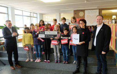 """Albert-Schweitzer-Schule  jetzt eine """"Schule ohne Rassismus – Schule mit Courage"""""""