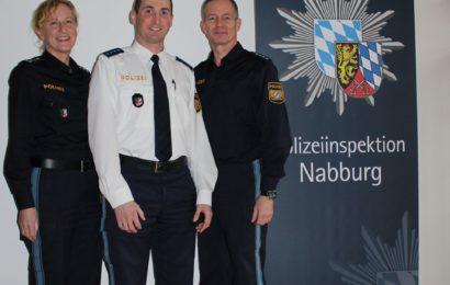 Neuer Mitarbeiter Verkehr bei der Polizeiinspektion Nabburg