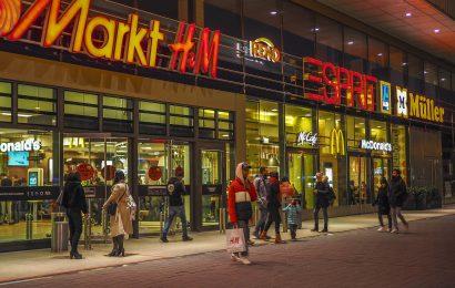 Symbolbild: Einkaufszentrum