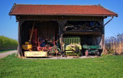 Einbruch in Gartengrundstück in Vilseck