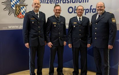 Amtswechsel bei der Polizeiinspektion Neunburg vorm Wald