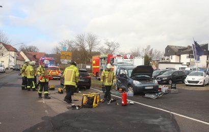 Schwerer Verkehrsunfall in Amberg