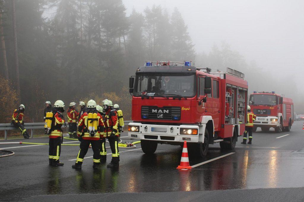 Symbolbild: Autobahnunfall