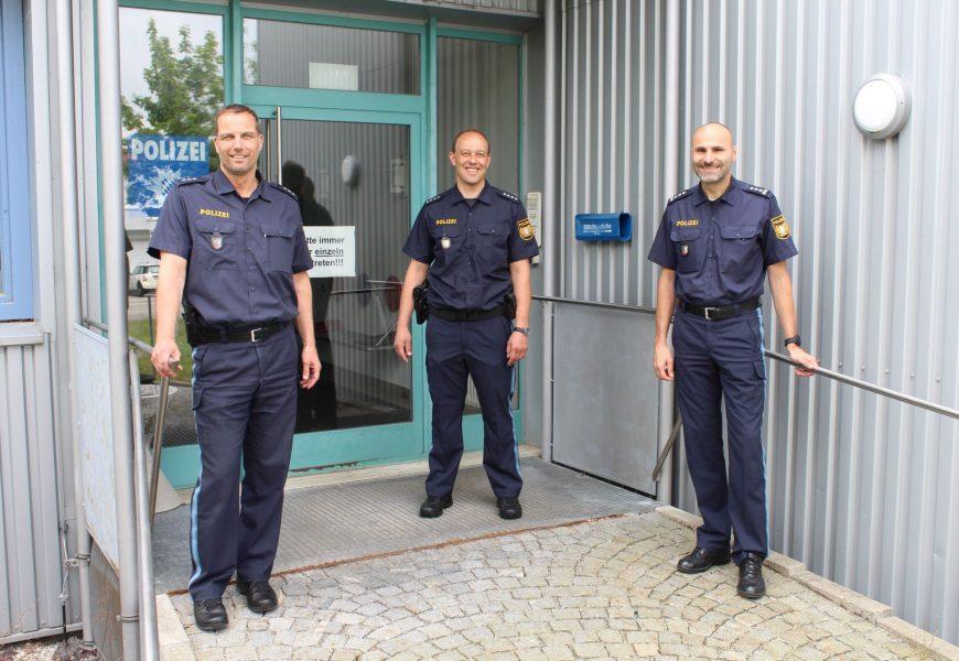 Amtswechsel bei der Polizeiinspektion Regenstauf