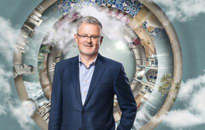"""Erfolgreiche """"Welten-Saga"""" mit Christopher Clark wird längerfristiges Projekt Copyright: ZDF/ [F] Tobias Schult ; Getty Images ; Alpenblick ; iStockphoto / [M] KNSK"""