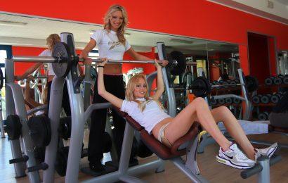 Innenräume von Fitnessstudios bleiben zu