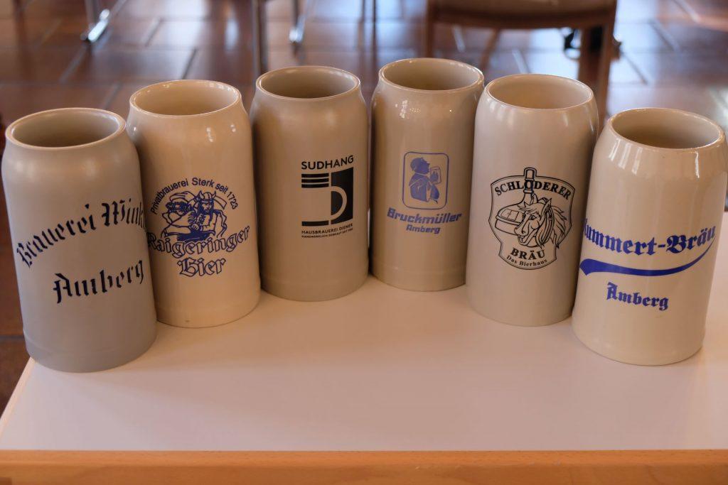 Die Steinkrüge der Amberger Brauereien