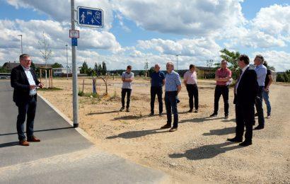 Neues Baugebiet Bergsteig Mitte II in Amberg fertig erschlossen