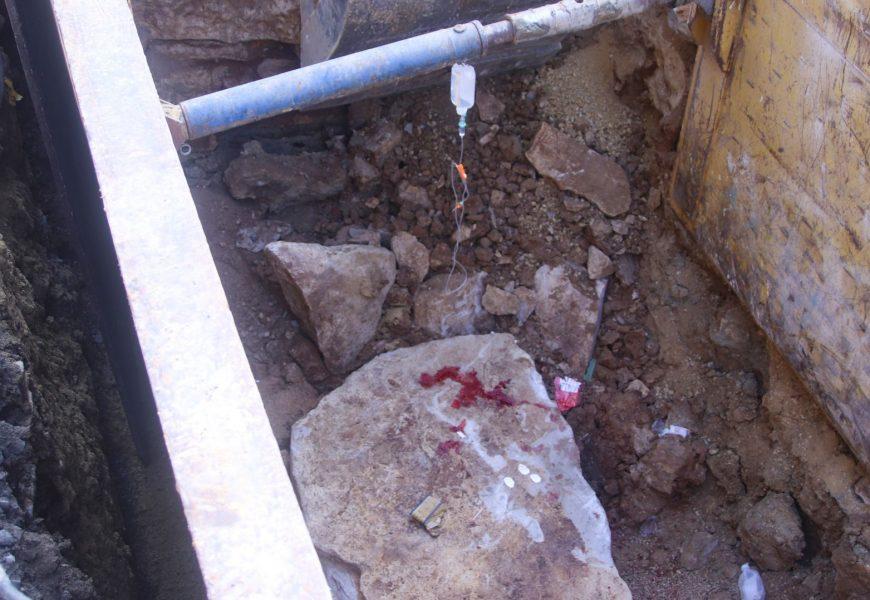 Schwerer Betriebsunfall auf Baustelle in Theuern