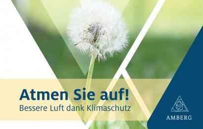 Stadt Amberg fördert seit diesem Jahr klimafreundliche Maßnahmen im Stadtgebiet