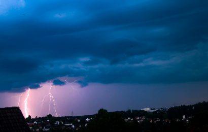 Gewitter in der Oberpfalz Foto: © MagicMemories.de