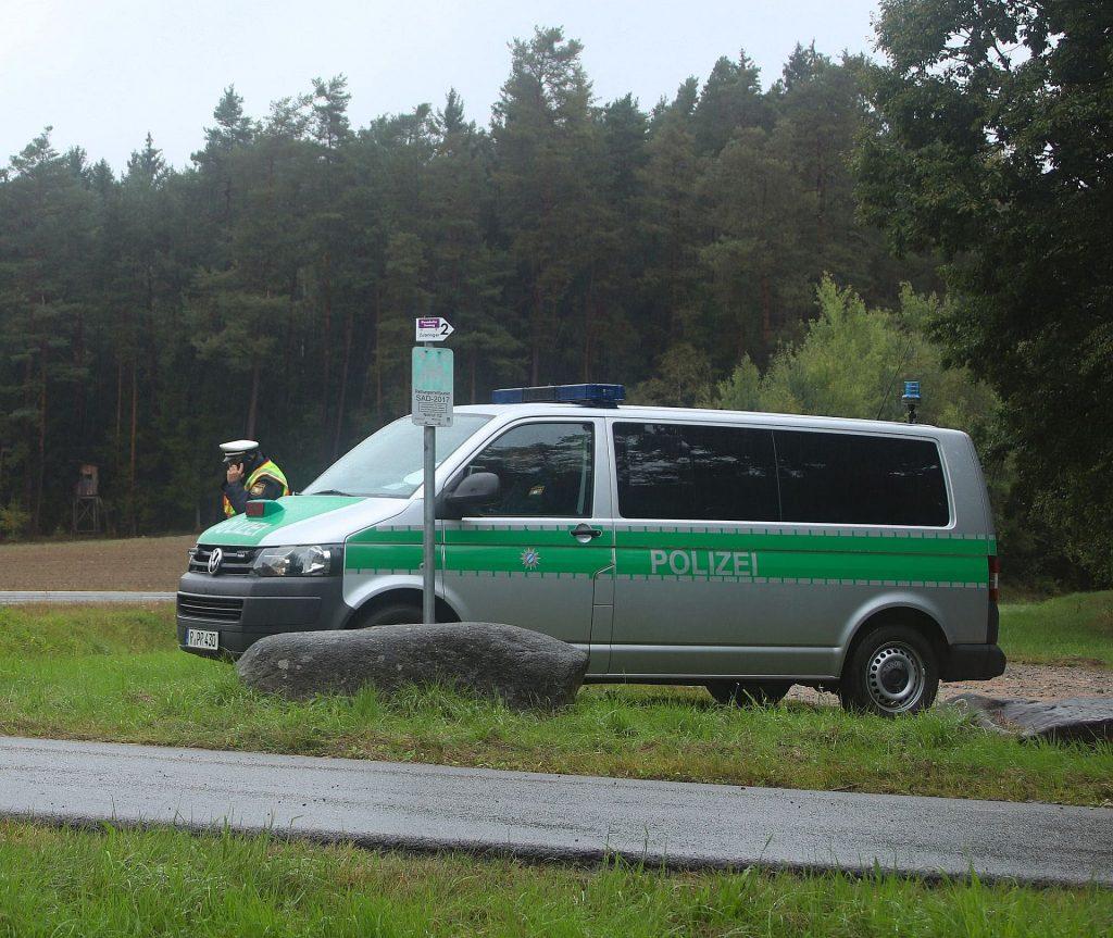 Anhaltungsstelle der Polizei Foto: © Pressedienst Wagner