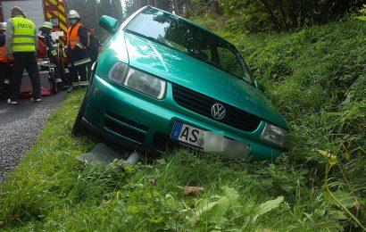 Vom Fahrer des Unfallfahrzeugs fehlt jede Spur Foto: Pressedienst Wagner