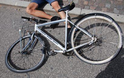 Symbolbild: Unfall mit Fahrrad