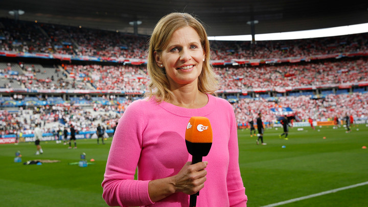 ZDF-Sportmoderatorin Katrin Müller-Hohenstein Copyright: ZDF/Bruno Levy