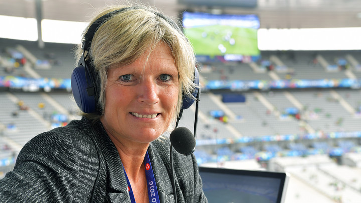 ZDF-Reporterin Claudia Neumann Copyright: ZDF/Peter Kneffel