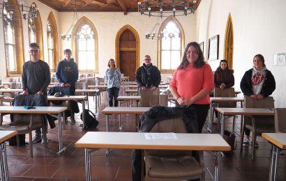 Neue Auszubildende und Anwärter der Stadt Amberg absolvieren einen Nachhaltigkeitstag