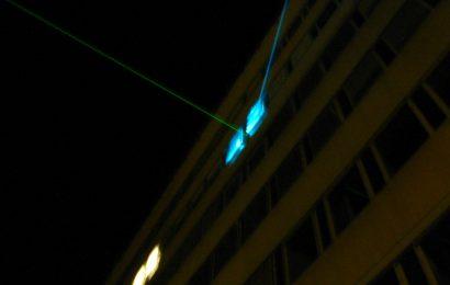 Fahrradfahrer in Nittenau mit Laserpointer geblendet