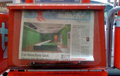 Diebstahl eines stummen Zeitungsverkäufers in Roding