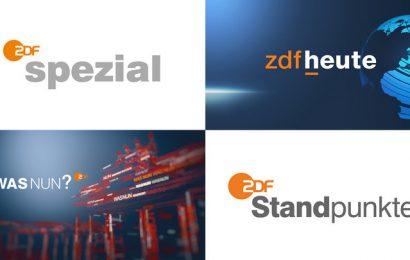 """Die Wahl zum neuen CDU-Vorsitzenden ist am Samstag Thema in einem """"ZDF spezial"""", auf ZDFheute.de, in einer """"Was nun?""""-Ausgabe und in """"Standpunkte"""". Copyright: ZDF/Corporate Design (3)/Luxlotusliner / [M"""