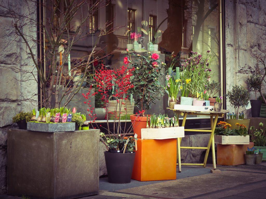 Symbolbild: Blumenladen