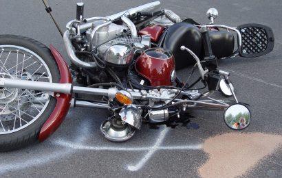 Archivbild: Verunfalltes Motorrad Foto: © Pressedienst Wagner