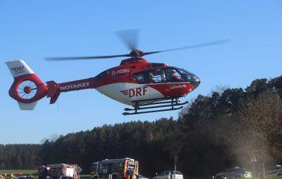 Schwerer Verkehrsunfall mit Falschfahrer auf der B85 in Cham