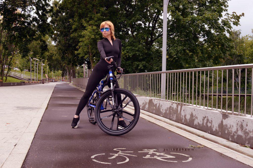 Symbolbild: Radfahrerin