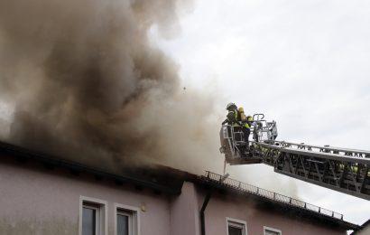 Wohnhausbrand in Eschenbach