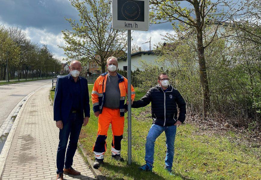 Geschwindigkeitsmessanlagen in Kümmersbruck