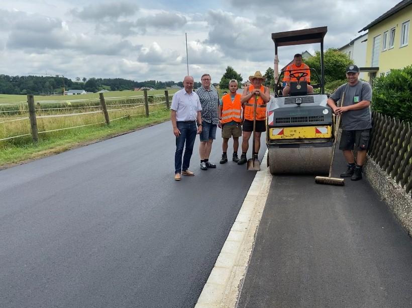 Fertigstellung Sanierung Siedlerstraße in Kümmersbruck