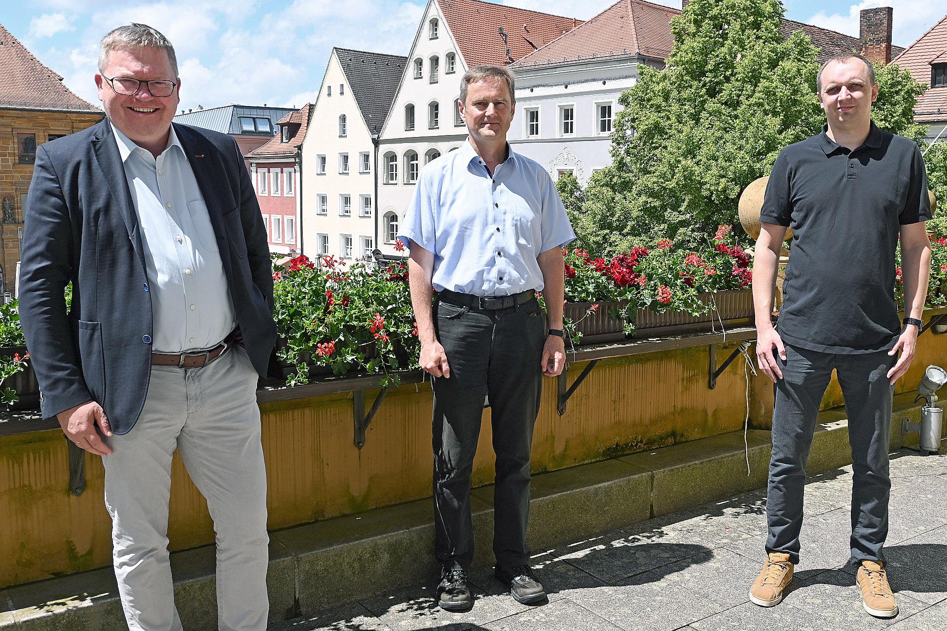 Führungsgruppe Katastrophenschutz der Stadt Amberg im Kampf gegen die Pandemie