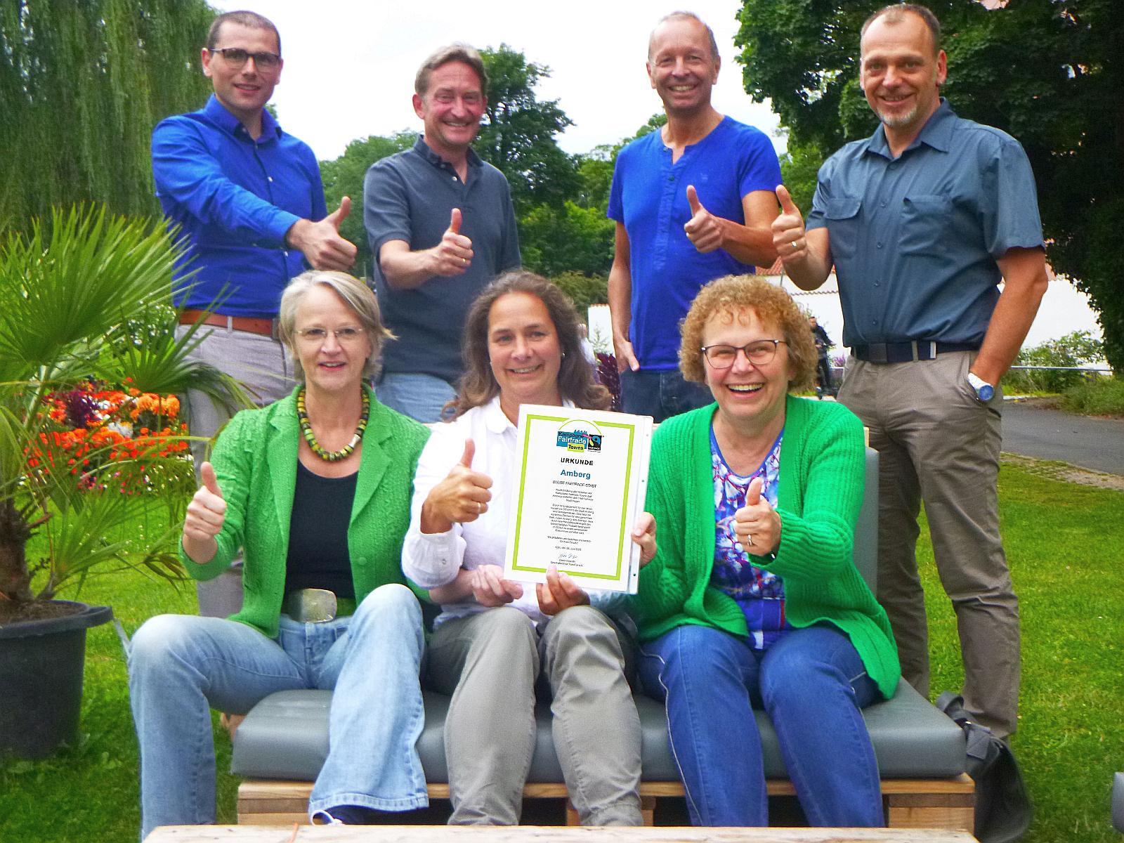 """Amberg ist weiterhin """"Fairtrade-Stadt"""""""