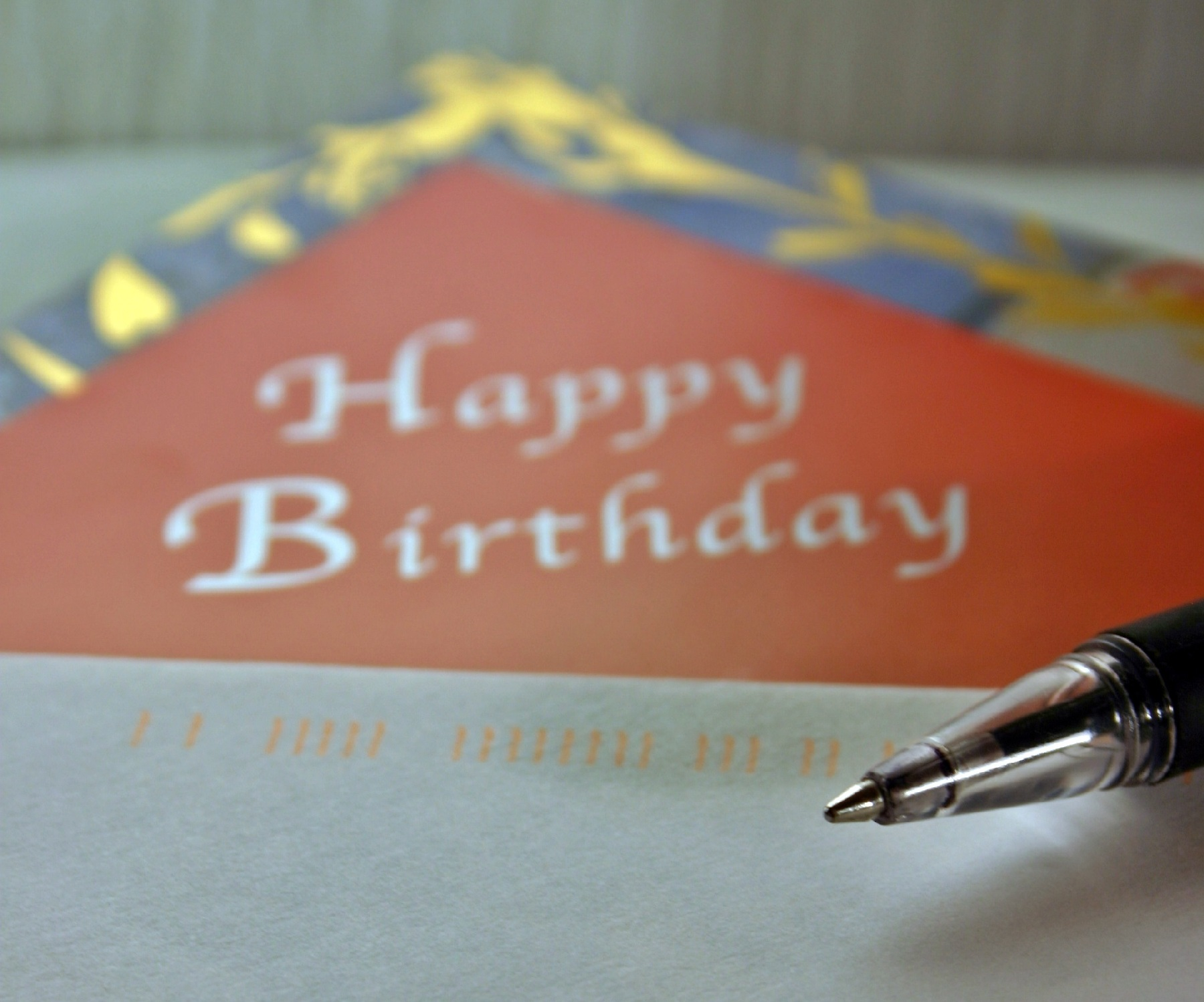 Symbolbild: Geburtstagsbrief
